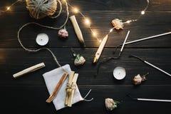 Free Burning Palo Santo Wood Sticks On Black Background. Balancing The Soul. Healing, Meditation, Relaxation And Purifying Concept Stock Photography - 196405682