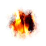 Burning paper Royalty Free Stock Image