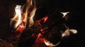 Burning pequeno da fogueira filme