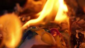 Burning Plastic Straws