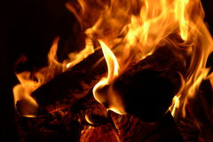 Burning pyre Royalty Free Stock Photography