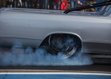 Burning Rubber Stock Photography