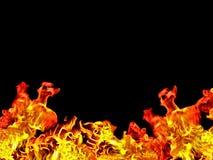 burning skrivbord Royaltyfri Fotografi