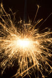 Burning sparkle Stock Photography