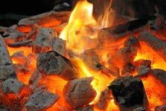 burning spisjournaler Royaltyfri Foto