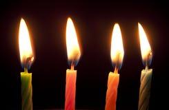 Burning stearinljus Royaltyfri Fotografi