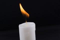 burning stearinljus Royaltyfria Foton