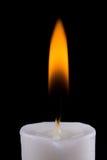 burning stearinljus Royaltyfri Bild