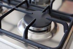 Burning stove Stock Image
