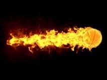 Burning strike Stock Photography