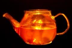 Burning tea Royalty Free Stock Image