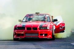 Burning tires Stock Photography