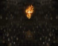 burning tro Royaltyfri Bild