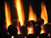 burning varmt Royaltyfri Foto