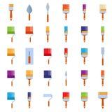 Burnishing tools Royalty Free Stock Images