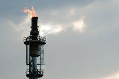 burnoff wieży Zdjęcia Royalty Free