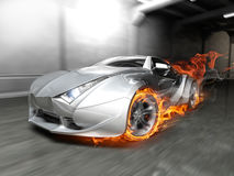Burnout Immagine Stock