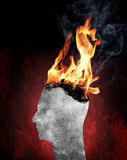 Burnout Royalty Free Stock Images