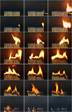 Burnout Fotografia Stock