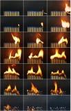 Burnout Fotografia Stock