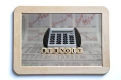 burnout foto de stock