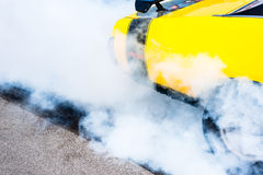 Burnout Royalty Free Stock Photography