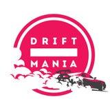 Burnout car, Japanese drift sport, Street racing Royalty Free Stock Image