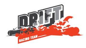 Burnout car, Japanese drift sport, Street racing Stock Photos