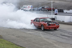 Burnout competition Stock Photography