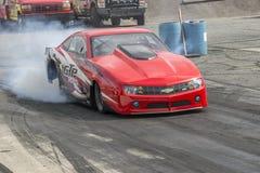 Burnout dell'automobile di resistenza di Chevrolet Fotografia Stock Libera da Diritti