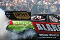Burnout divertente dell'automobile Fotografia Stock