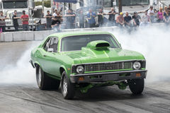Burnout on the track Royalty Free Stock Photo