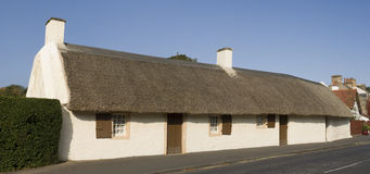 Burns Cottage Royalty Free Stock Image