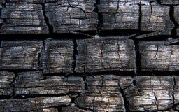 burns drewna Obrazy Stock