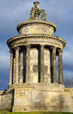 Burns Monument in Edinburgh Stock Photo