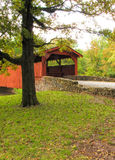 Burns Park Covered Bridge 3 Stock Photos
