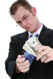 burns pieniądze Zdjęcie Royalty Free