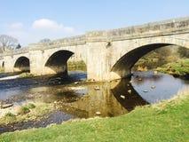 Burnsall河 免版税图库摄影