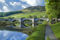 Burnsall and the River Wharfe Royalty Free Stock Photography