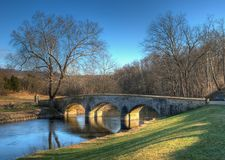 Burnside's Bridge in Sharpsburg, Maryland Royalty Free Stock Photos