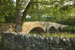 Burnsides bro på den Antietam (Sharpsburg) slagfältet i Maryla Arkivbild