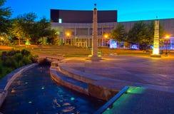 Burnsville HOTC τη νύχτα στοκ εικόνα με δικαίωμα ελεύθερης χρήσης