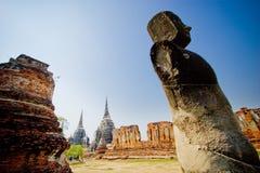 The burnt buddha statue Royalty Free Stock Image