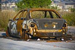Burnt caru Stock Photo