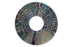 Burnt CD Royalty Free Stock Photo