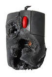 Burnt Computer Mouse Stock Photos