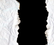 Burnt edge paper with space for text Royalty Free Stock Photography