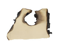 Burnt edges paper Royalty Free Stock Images