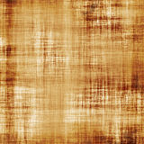 Burnt fiber threaded canvas Stock Photography