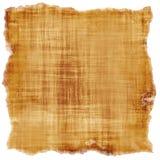 Burnt fiber threaded canvas Stock Image
